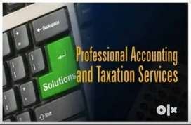 GST Accounts Writing Income Tax and TDS Loan