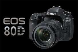 Kredit Kamera Canon 80D Proses Cepat
