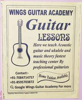 Guitar class lessons