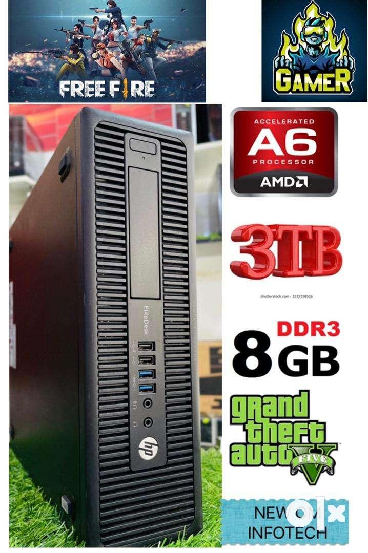 FREE-FIRE/GTA 5 WLA PC/8GB RAM A/3TB HARD DISK A / RADEON R5 GRAPHICS