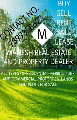 MAHESH REAL ESTATE  and property DEALER  in BELGAUM CITY