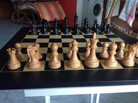 Wooden Chess Set ( Board + Pieces)