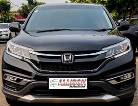 Honda CRV 2.400 CC Prestige Automatic 2015 Hitam No Polisi