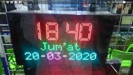 Jam Digital ada running text