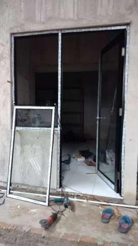 siap survei pemasangan pintu dan jendela (aluminium) | yang awet