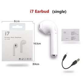 Headset Bluetooth I7 Single Earphone Wireless Handsfree Universal