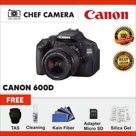 Canon 600D + KIT