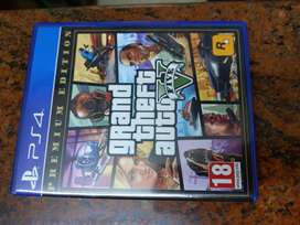 PS4 Grand Theft Auto V5 (CD)
