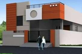 30*40 north facing plot with construction near keshwapur area