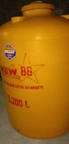 Tandon air 1100 liter bahan plastik pvc Gratis antar