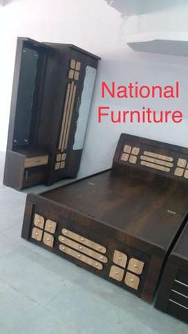 6*4 Storage bed cupboard and dressing table set