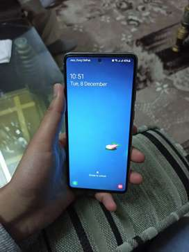 Galaxy Note 10 Lite, best condition,even side stickers are still there