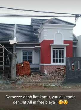 Rumah baru di tahun baru ,tanpa DP,,booking 4jt sudah all in