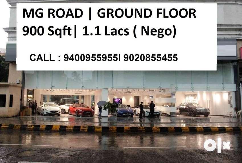 900 Sqft Ground Floor MG Road , 1.10 Lacs