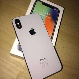 I phone x 256 white indian