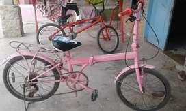 Di jual sepeda lipat ukuran 20'