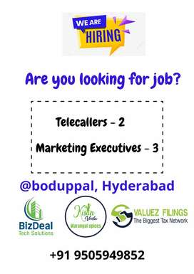 Telecaller and marketing