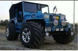 Open jeeps modifid