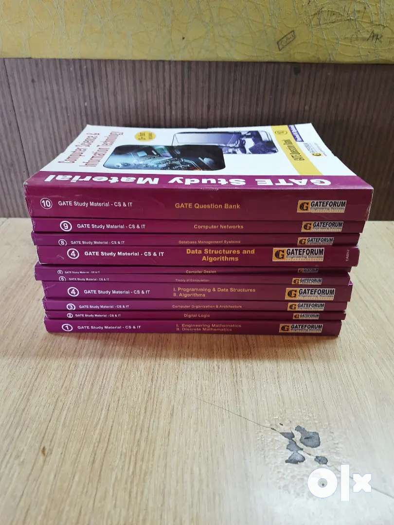 Gate books for cse offer price 1000 0