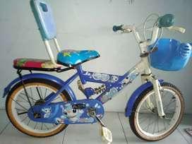 Sepeda anak uk 16 siap pakai