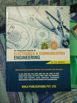 Electronics and communication Engineering  for all competitive exams