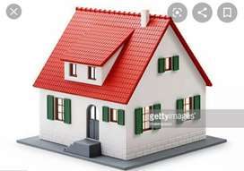 House for sale. 124 gaj 20m far from NH9