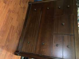 INTERWOOD WOODEN DRESSING TABLE/DRAWER SOLID
