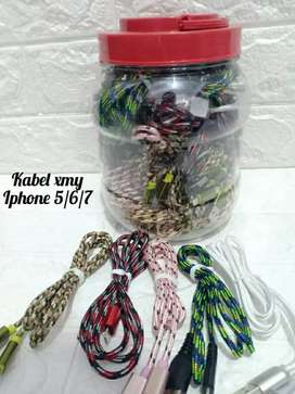Kabel Charger XMY iphone 5/6/7
