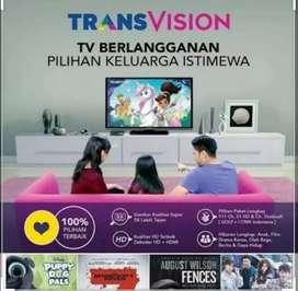 Promo Cas/ Cicilan Trầnsvision HD Resmi special murah cepat Pasang