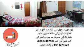 Raza hostel and separate room