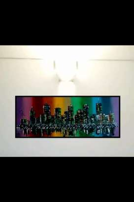 City Scape-Painting