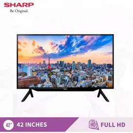 HCI - KREDIT LED TV SHARP 42Inc || GRATIS ADMIN