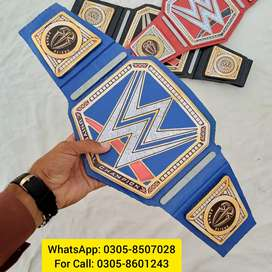 WWE Blue Universal Championship Belt for Sale in Lahore/Pakistan