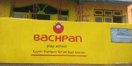 Require Female staff For New openings Brand Bachpan Play School