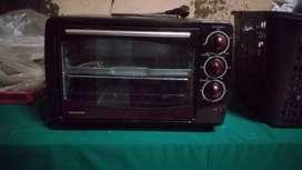 Oven Sharp 1500 Watt masih bagus beberapa kali dipakai