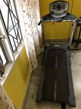 Treadmill electrically operated
