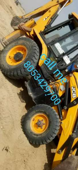 JCB 3DX all Mitti chalawa machine
