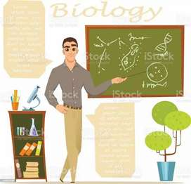 11th and 12th class biology teacher available