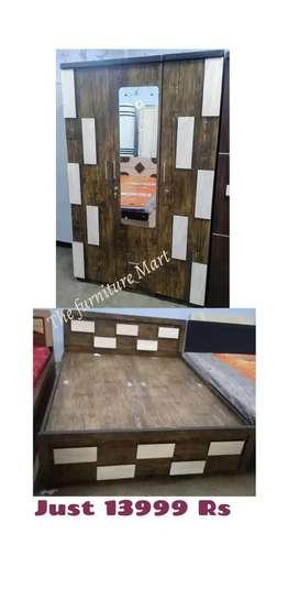 Bedroom set furniture Mart brand new