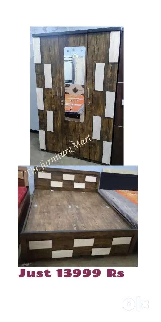 Bedroom set furniture Mart brand new 0