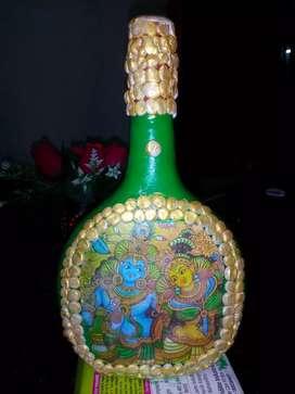Bottle Art showpiece