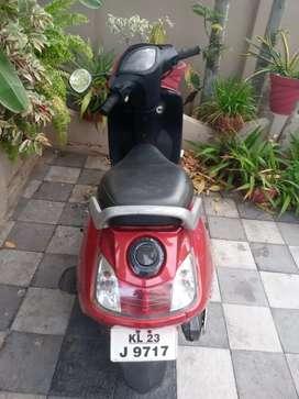 Tvs jupiter Red color and model 2014