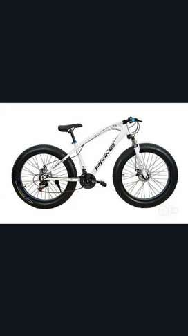 Brand new fat tyre cycle with new hybrid shimano 21 gear