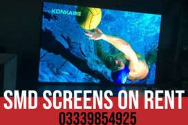 SMD screen available on rent in Peshawar