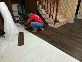 Vinyl lantai kayu anti rayap