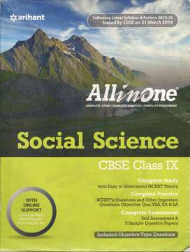 Class 9 Social science All in one