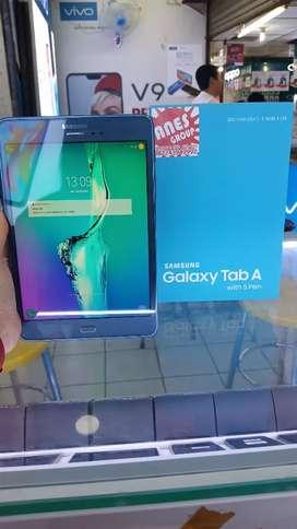 "Samsung Tab A 8"" ram 2/16 with S pen blue normal jaya fullset ori"