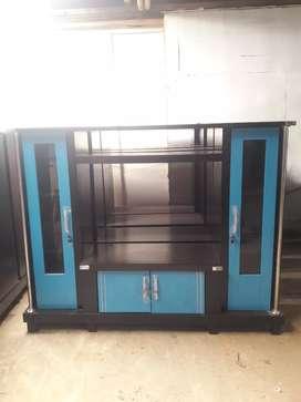 Bufet tv avanza / bufet tv minimalis / bufet tv murah warna biru