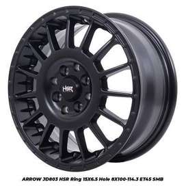 harga velg hsr wheel - arrow velg racing 15 calya sigra march datsun