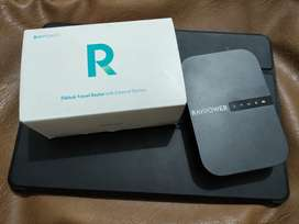 RAVPower Wireless File Hub, Travel Router and Powerbank